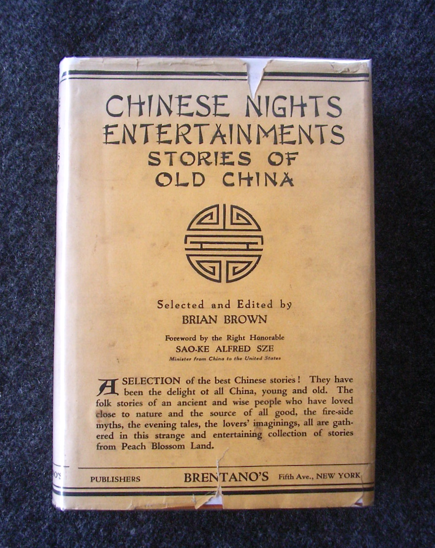 Image for Chinese Nights Entertainments : Stories Of Old China : selected & edited by Brian Brown.