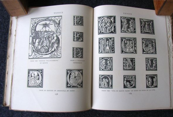 Image for Early Woodcut Initials: 15th & 16th Century ornamental letters.